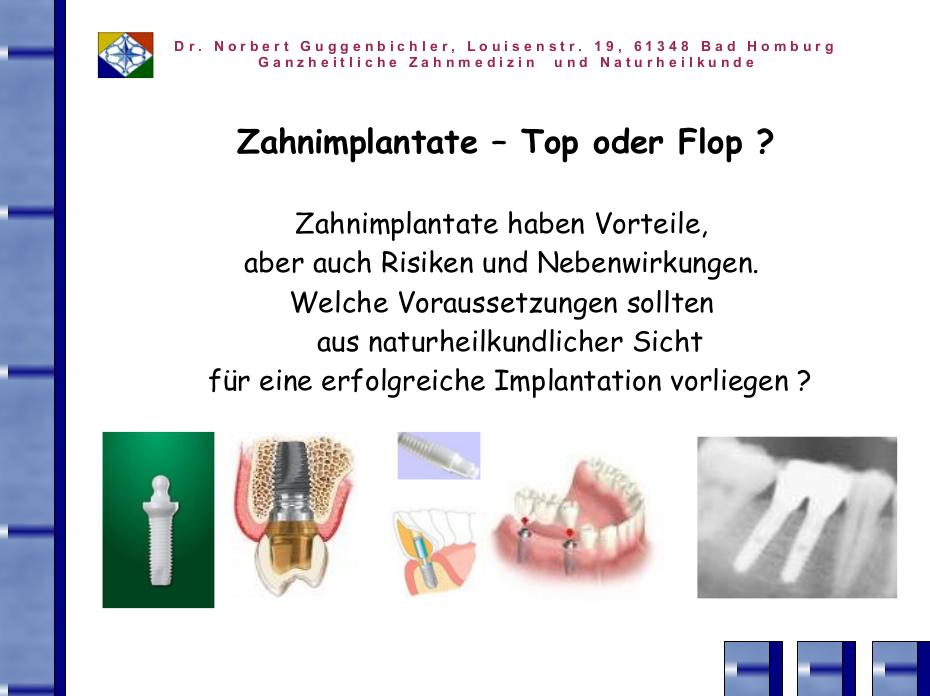GuggenbichlerVortrag2008_Zahnimplantate – Top oder Flop?